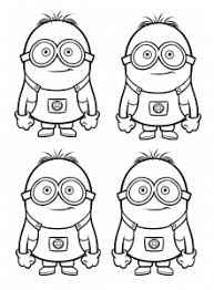 Minions in snow coloring page. Minions Free Printable Coloring Pages For Kids
