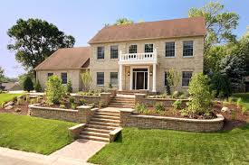 Beautiful Scenery Landscaping Ideas for Front of House : Landscaping Ideas  For Front Of House On