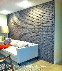 home depot brick wall panels indoor faux stone lovable interior covering de
