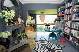eclectic design home office. Colorful, Eclectic Home Office Design