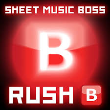 Solo, piano & vocal and piano.easy (format.pdf). Rush B Piano By Sheet Music Boss On Amazon Music Amazon Com