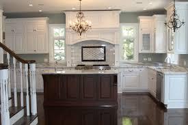 Small Picture white cabinets brown island white kitchen brown island dark