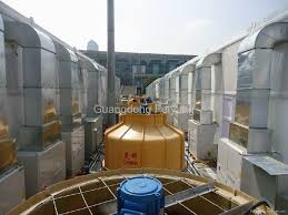 round type cooling tower