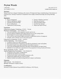 Customer Service Resume Skills List Free Template Servers Resume