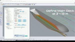 Rhino Boat Design Software Seanaptic For Rhino Parametric Ship Design Basics