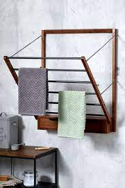 bronx wall mounted drying rack from