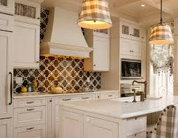 The Kitchen Backsplash Ideas for White Cabinets John Fante Photo