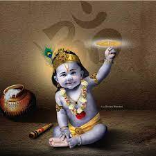 Cute Baby Hd Krishna Images With Makhan ...