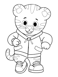 Small Picture Free Printable Daniel Tiger Coloring Pages Online