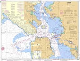 Noaa Chart 18649 Entrance To San Francisco Bay