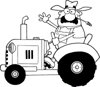 Small Picture tractor coloring pages free coloring print pages geometric