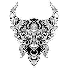 Motivy Tetování Býk