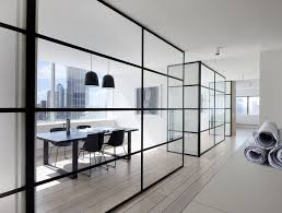 office glass partition design. australian interior design awards 2013 office glass partition design
