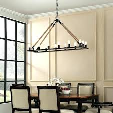 candle style chandelier modern