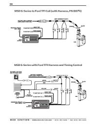 msd al wiring diagram ford tfi wiring diagram ms1 extra ignition hardware manual