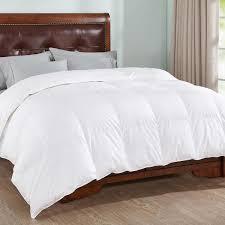 peace nest 100 cotton white full queen goose down comforter