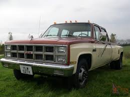 All Chevy chevy c3500 : 1982 GMC CHEVY C3500 6.5 TURBO DIESEL DUALLY CREW CAB FULL SIZE ...