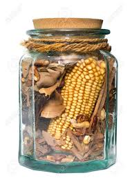 Decorative Vegetable Jars Decorative Glass Jar With Aromatic Dried Vegetables Stock Photo 54
