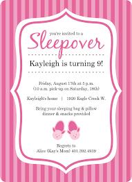sleepover template 41 beautiful sleepover invitation templates free template free