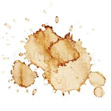 coffee spill png. Modren Spill Coffee Stains Isolated On White Background Vector Illustration  Stock  Colourbox Throughout Spill Png