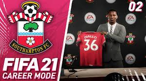 Diallo Signs! - FIFA 21 Southampton Career Mode #2 - YouTube
