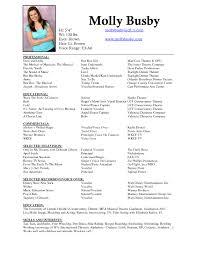 singer resume template cover letter singer resume template