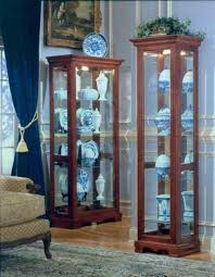 cabinets small collectibles cabinet mounted glass for rhgeoffthompsoninfo amish furniture and display cases from jpg