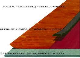 Moderne Klebe Bleiverglasung