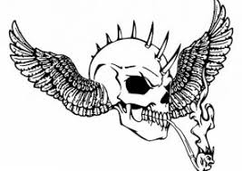Small Picture Skull Coloring Pages Coloring4Freecom