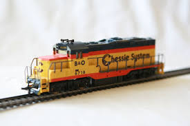 Cox Trains Chessie System GP 20 HO Locomotive Train Engine | eBay ...
