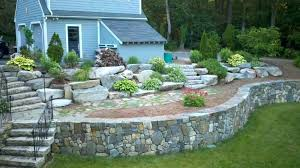 how to build a brick retaining wall building a retaining wall on a slope with railroad