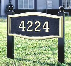 Decorative Yard Signs Decorative Yard Signs Luxury Lawn Address Markers And Decorative 10