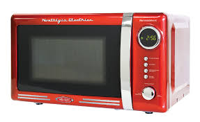 Retro Red Kitchen Red Retro Microwave Oven Cooking Sleek With Sears