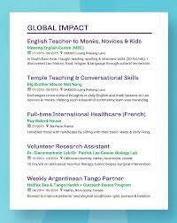 Heading For Resume Resume Headings To Stand Out In 2018 With Real Examples