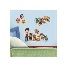 paw patrol l and stick wall decal