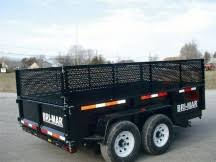 dt610lp le 7 dump trailer bri mar Dump Bed Trailer Wiring Diagarm 24\u2033 side and tailgate extensions