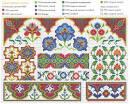 Восточный мотивы вышивка схемы