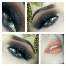 arabic smokey eyes makeup for stani brides