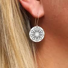 Namedala™ <b>Custom Name Earrings</b> | Metal Mandala Earrings ...