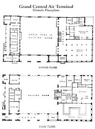 Grand Central Air Terminal FloorplansGrand Central Terminal Floor Plan