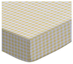 sheetworld crib sheet set primary gingham woven contemporary crib bedding sets by sheetworld