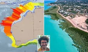 More than nine years after the disastrous earthquake and tsunami in japan, a small fishing boat from the affected coastline has. Weather Experts Reveal Tsunami Danger Zone Map For Australia And It S Not Good For Wa Daily Mail Online