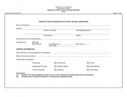 Checklist For Accreditation Doh