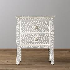 bone inlay nightstand. Simple Bone With Bone Inlay Nightstand