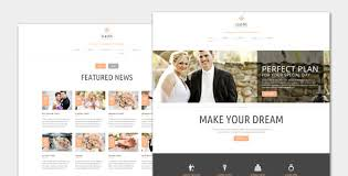 Wedding Wordpress Theme Elastic Wedding Wordpress Theme By Templatesquare Themeforest