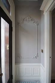 frames on wall moldings and trim