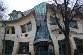 architectural buildings designs. 2. The Crooked House (Sopot, Poland) Architectural Buildings Designs L