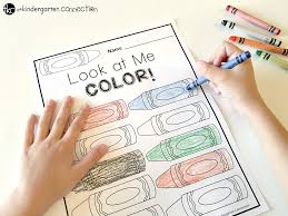 You can print or color them online at getdrawings.com for absolutely free. Color Words Free Printable The Kindergarten Connection
