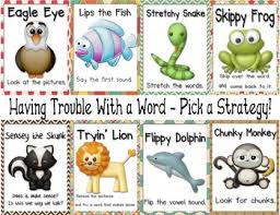 Reading Strategies Beanie Baby Anchor Chart