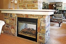 gas fireplace logs vent free